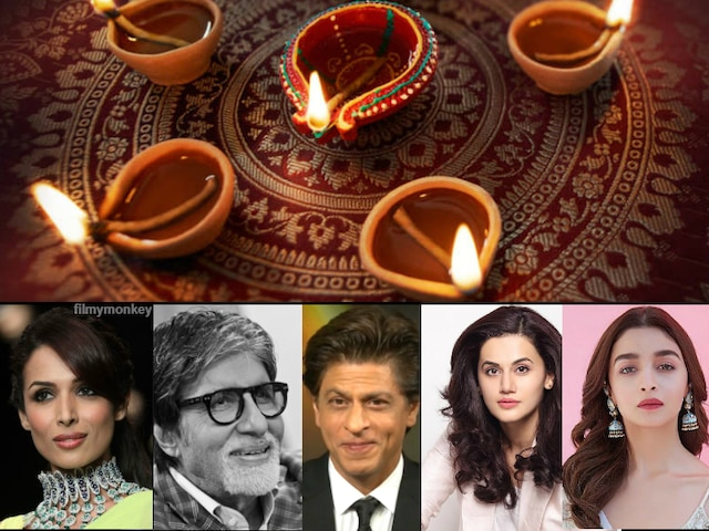 Bollywood Diwali 2019: Some will party or take a break, a few will work! Here's what Srk, Amitabh, Alia & others plan...