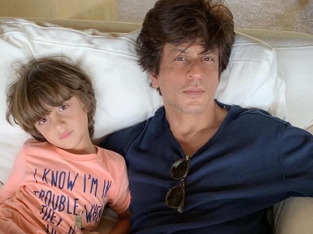 Shah Rukh Khan REVEALS Son AbRam Khan's Reaction To His David Letterman Interview