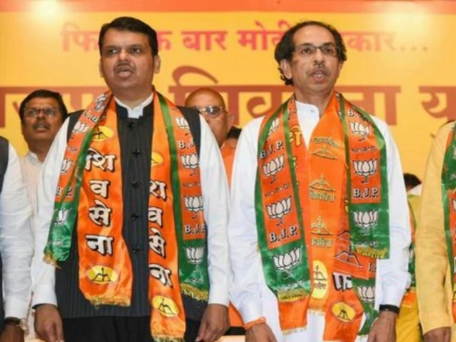 BJP-Shiv Sena Maharashtra CM War: Sena Flaunts 'Other Option' After Fadnavis Asserts To Remain CM For Full Term; 10 Points