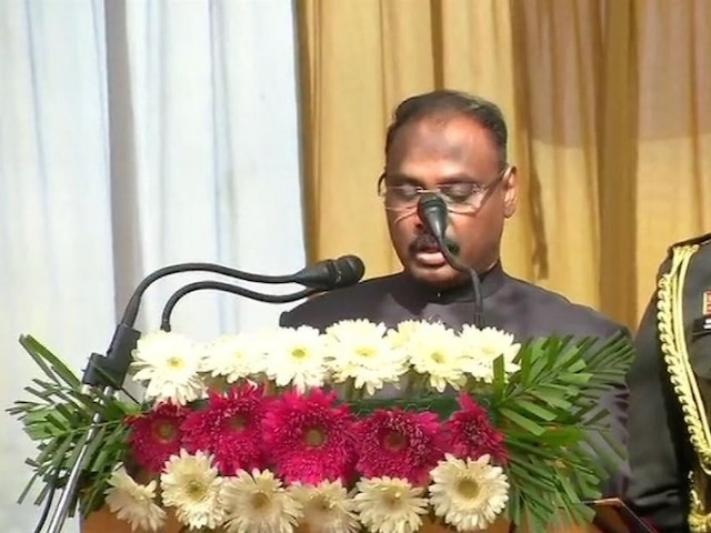 Girish Chandra Murmu Sworn In As First Lt Governor Of Jammu & Kashmir