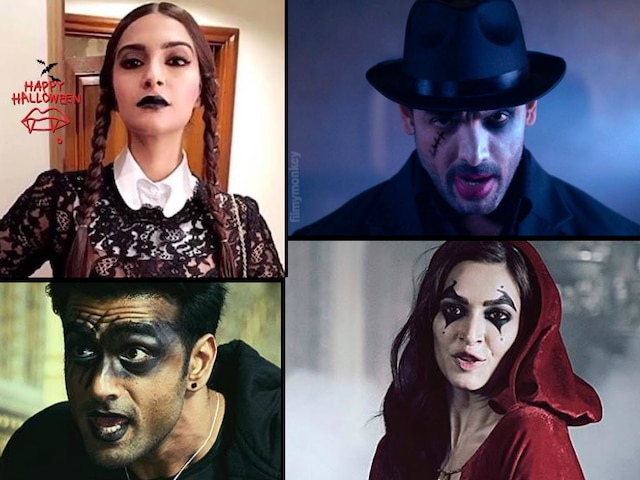 Bollyood actors Sonam Kapoor, John Abraham & others catch up with spirit of Halloween 2019 in spooky attires