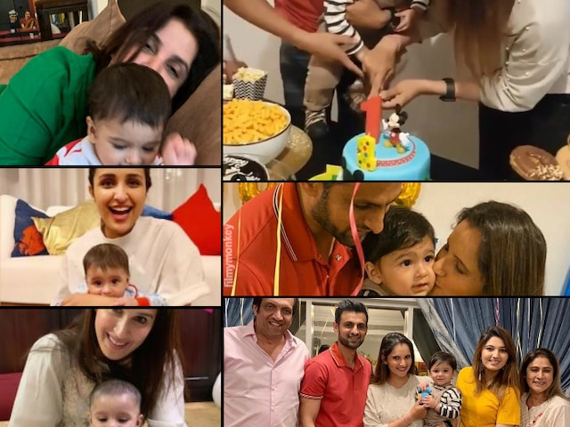 Sania Mirza-Shoaib Malik celebrates son Izhaan Mirza Malik's 1st Birthday with a party, Bollywood friends pour out heartfelt wishes for the little one!
