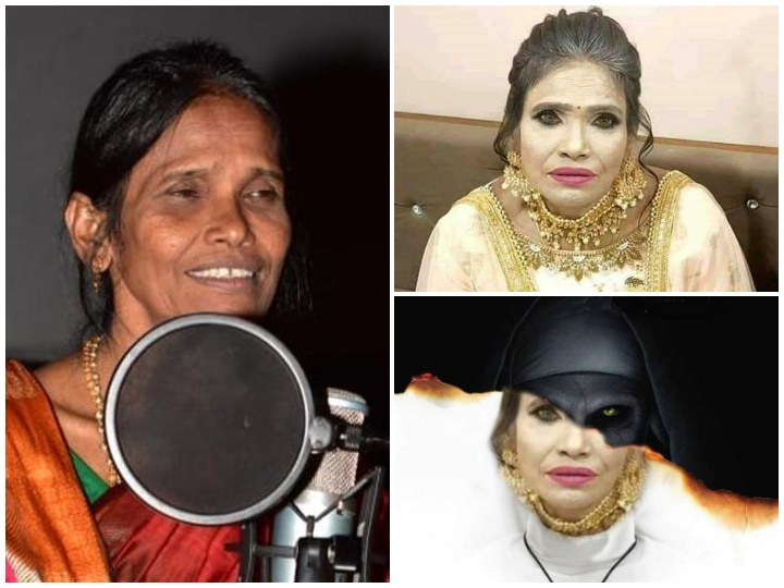 Netizens Troll Ranu Mondal Over Excess Make Up In Latest