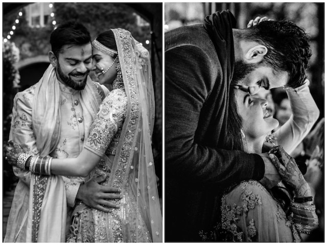 Anushka Sharma-Virat Kohli Share Unseen Wedding Pictures As