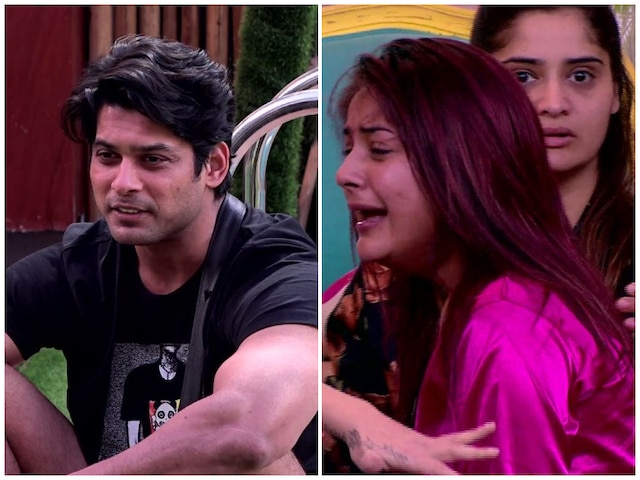 Bigg Boss 13 Shehnaaz Gill Slaps Sidharth Shukla Throws