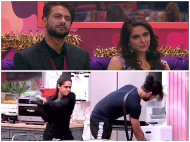 Bigg Boss 13 After Slipper Madhurima Tuli Hits Ex Beau