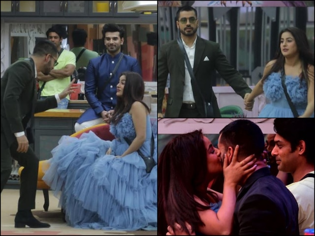 Bigg Boss 13 Shehnaaz Gill Showers Gautam Gulati With