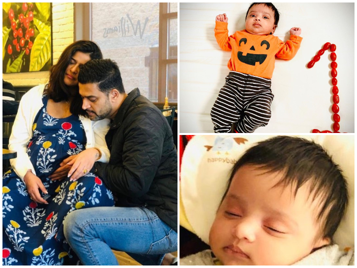 FIRST PICS: 'Udaan' Actress Ginny Virdi Malhi Introduces Newborn Daughter Eve Malhi As She Turns One Month Old