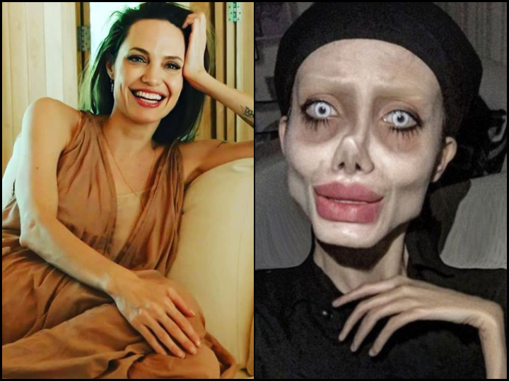 Zombie Angelina Jolie Jailed Iranian Influencer Jailed For 10 Years In Prison Over Social Media Post