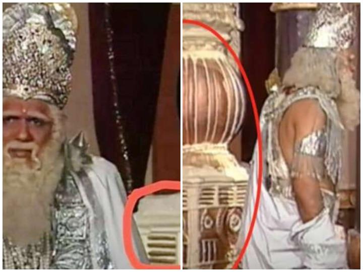 Mahabharat Fans Spot Air Cooler Behind Mukesh Khanna Aka Bhishma Pitamah Twitter Shares Hilarious Memes