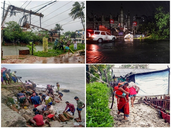 IN PICTURES: Cyclone Amphan Makes Landfall In India; Houses, Roads Shattered As Storm Wreaks Havoc