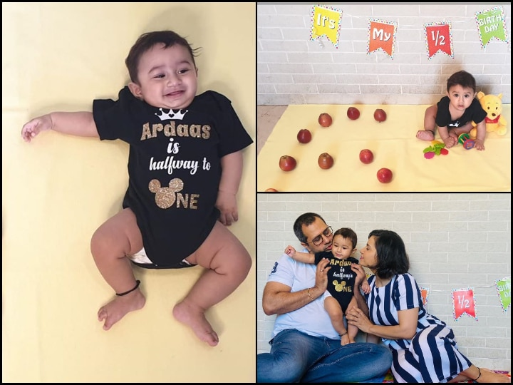 'Taarak Mehta Ka Ooltah Chashmah' Actress Shares CUTE PICS Of NEWBORN Son As He Turns 6-Months-Old