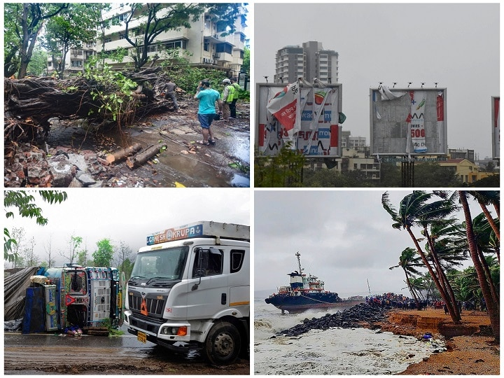 IN PICS | Cyclone Nisarga Spares Mumbai But Wreaks Havoc In Other Districts Of Maharashtra