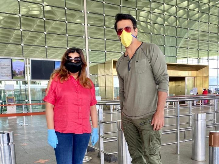 Sonu Sood, Neeti Goyal Sponsor Flight To Send 180 Migrant Workers ...