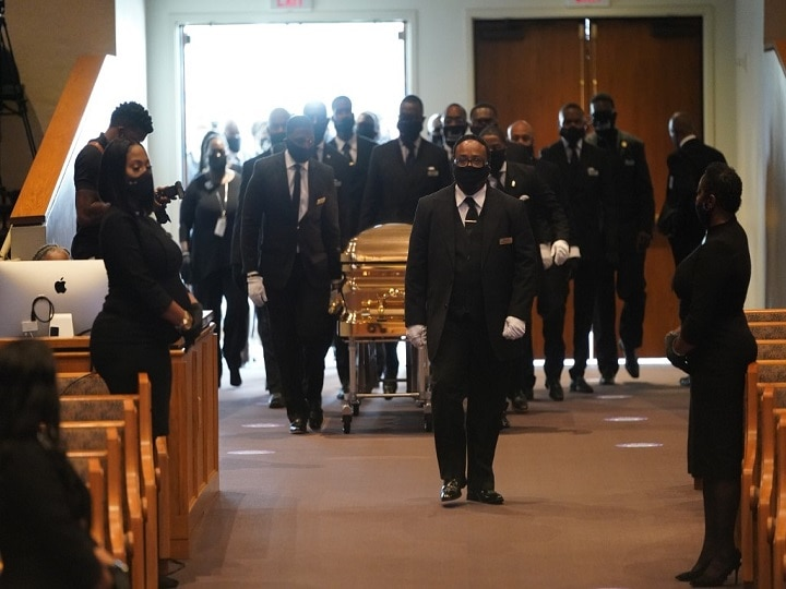 IN PICS | George Floyd Being Laid To Rest As Family, Friends Gather In Houston To Pay Final Tribute