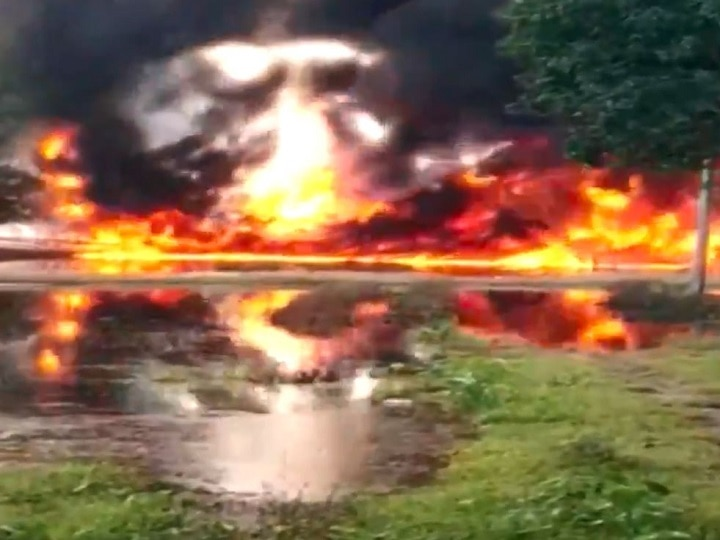 Assam: Massive Fire Engulfs Oil Well In Tinsukia; NDRF, Air Force Deployed To Douse Blaze