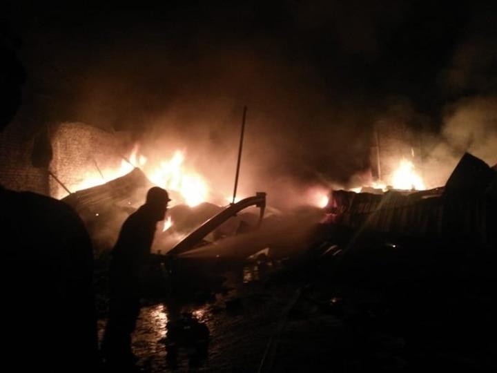 Delhi: Fire Breaks Out At Chemical Godown In Swaroop Nagar; 16 Fire Tenders At Spot