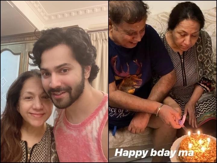 PICS: Here's How Varun Dhawan Celebrated His Mother Karuna's Birthday