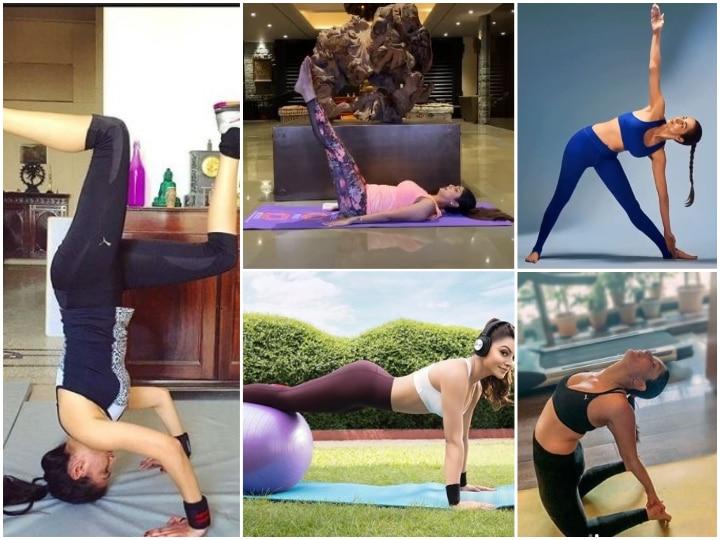 International Yoga Day 2020: From Shilpa Shetty, Kareena Kapoor, Malaika Arora & Other Bollywood DIVAS Flaunt Their Toned Physique While Practicing Yoga!