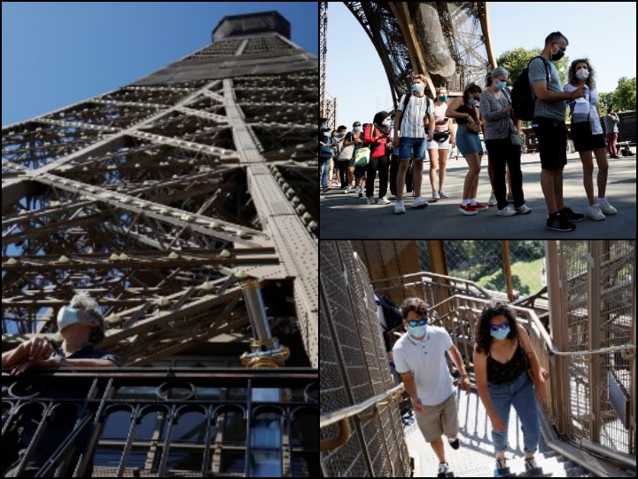 In PICS: Paris' Eiffel Tower Reopens After 3-Month Closure Due To COVID-19 Crisis, Visitors Rejoice