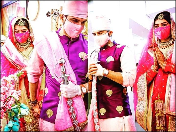 'Sasural Simar Ka' Actor Manish Raisinghan Shares FIRST PICS From His Wedding Album, Pens Post For Wife Sangeita Chauhaan