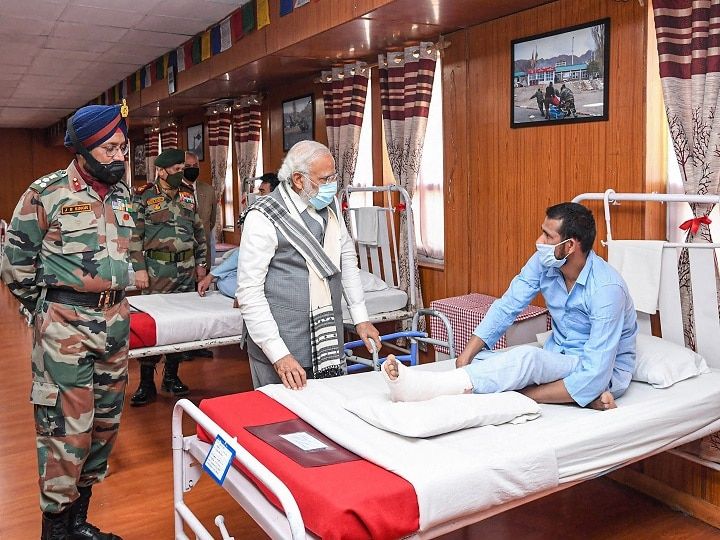 In Surprise Ladakh Visit, PM Modi Sends Stern Message To China; Meets Soldiers Injured During LAC Clash | 10 Points