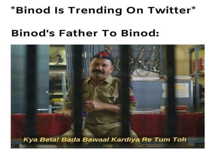 Enjoying Binod Memes On Social Media Know Who Is He And How Paytm Responded To The