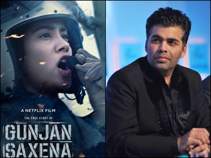 Gunjan Saxena The Kargil Girl Karan Johar Caught On Twitter Army S Radar For Allegedly Insulting Iaf In Janhvi Kapoor S Film