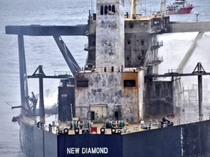 In Pics| Fire On Oil Tanker Off Sri Lankan Coast Extinguished, Major Disaster Averted