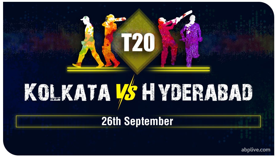 KKR vs SRH Predicted Playing XI, Pitch Report, Match Prediction And Weather Forecast At Abu Dhabi