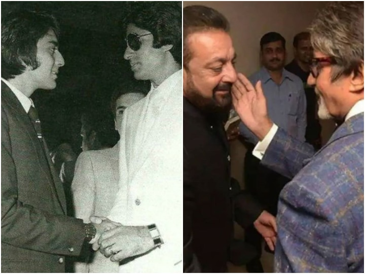 Amitabh Bachchan's birthday: Sanjay Dutt shares throwback ...
