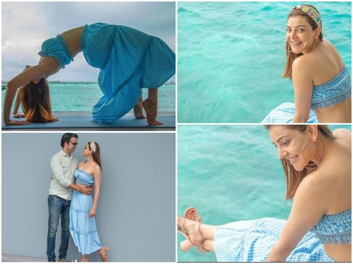 NEW PICS From Kajal Aggarwal And Gautam Kitchlu's Honeymoon In Maldives Will Leave You Gushing For The Couple!