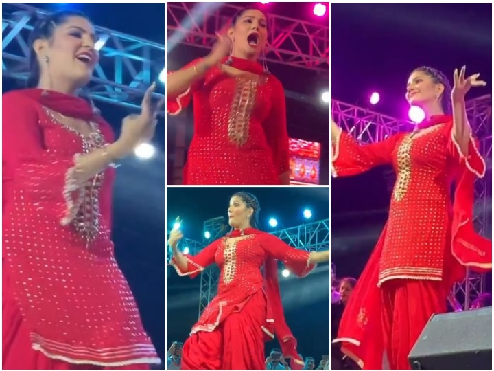 Bigg Boss 11's Sapna Choudhary Returns To Stage Months After Giving Birth To Baby Boy; Watch Her Sizzling Performance!