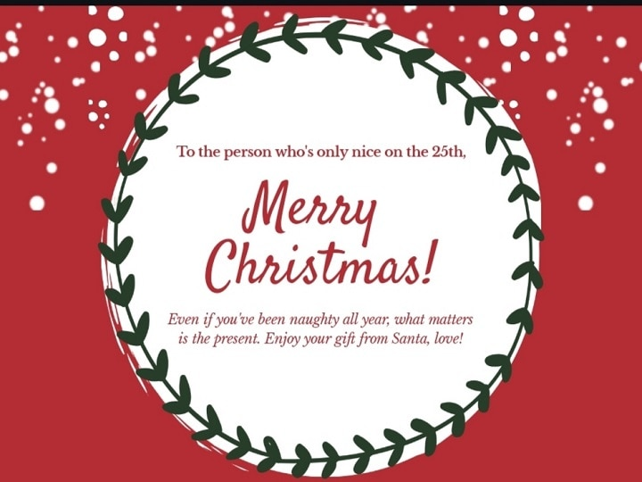 Christmas Day 2020 Wishes | Sharing Seasons' Blessings: Check Greetings, Messages For WhatsApp, Facebook Status