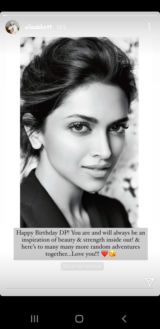 Happy Birthday Deepika Padukone: Anushka, Alia, Prabhas & Others Pour In Wishes For B-Town Diva