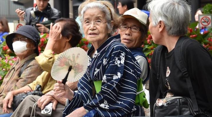 जापान में रिकॉर्ड 86 हजार से ज्यादा की आबादी 100 वर्ष  की आयु के पार, इनमें महिलाओं की संख्या ज