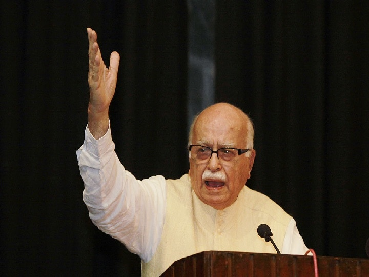After the court's decision in the Babri case, Advani said - Jai Shri Ram, it is a matter of great happiness for all of us