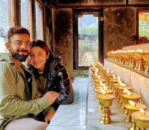 अनुष्का शर्मा ने खास अंदाज में मनाया पति विराट का बर्थडे, शेयर की ये खूबसूरत तस्वीरें