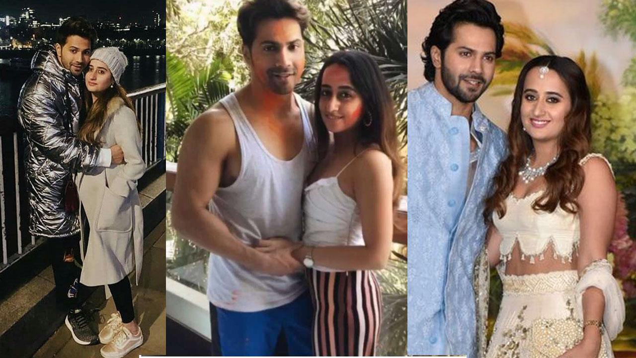 Varun Dhawan Celebrates Girlfriend Natasha Birthday In Too Adorable Way |  In Pics: लॉकडाउन में वरुण धवन ने बेहद खास अंदाज में मनाया गर्लफ्रेंड नताशा  का बर्थडे, सालों से कर रहे हैं
