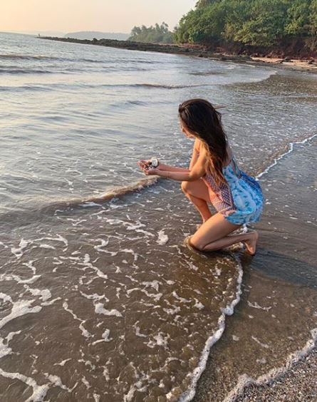 Photos: Mouni Roy misses vacation mode in lockdown