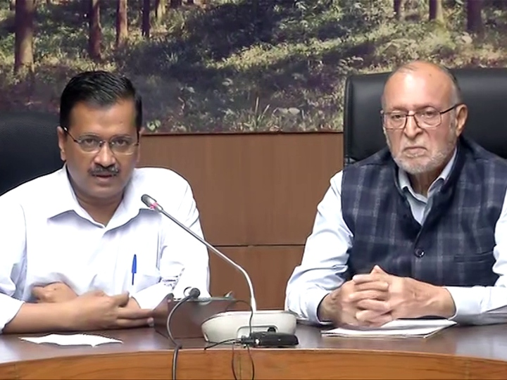 Delhi lieutenant government called disaster management committee meeting again ANN