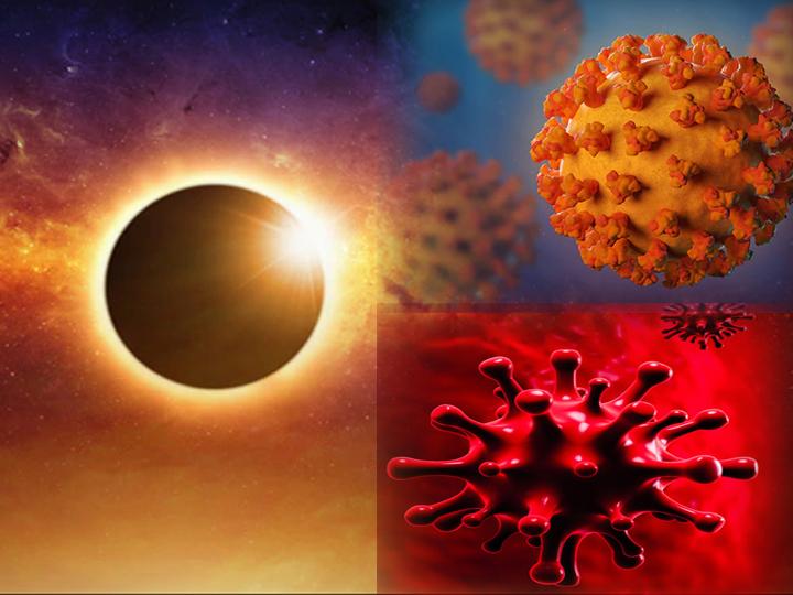 Gorakhpur Pandit Rajesh Tiwari of Gorakhpur claimed that coronavirus will increase rapidly after June 21 solar eclipse