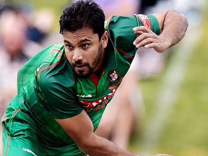Former Bangladesh Captain Mashrafe Mortaza Tests Positive for COVID-19