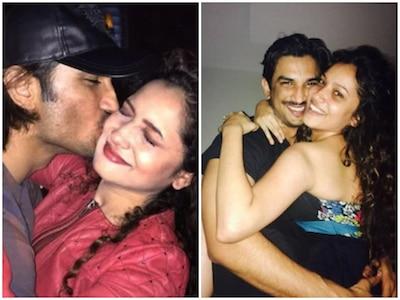 Sushant Singh Rajput Teasing Ankita Lokhande For Love Bite Video ...
