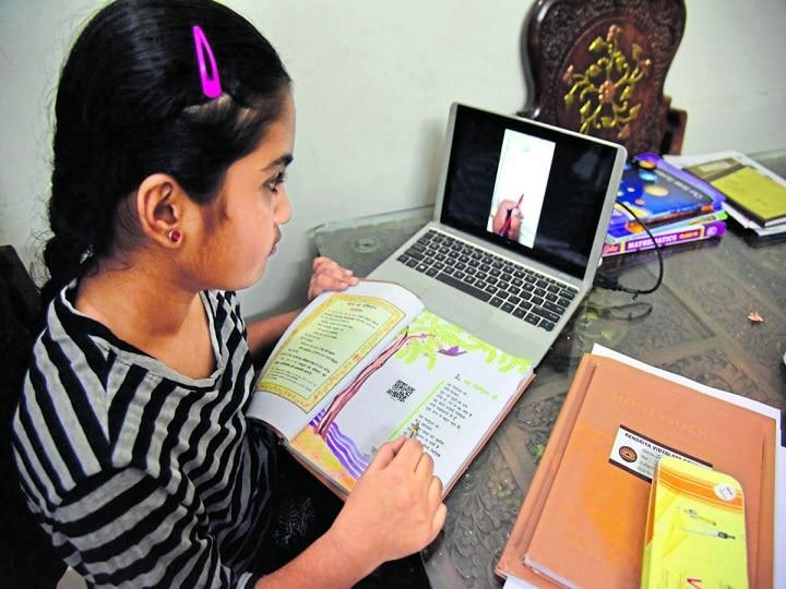 80% बच्चों के पास ऑनलाईन पढ़ाई के लिए नहीं है लैपटॉप, NCERT सर्वे में हुए कई खुलासे