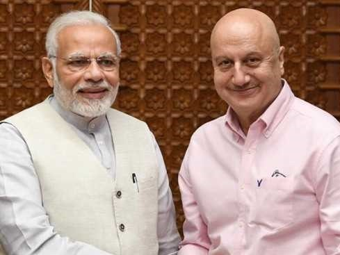Anupam Kher in his article described PM Modi as the best prime minister ever