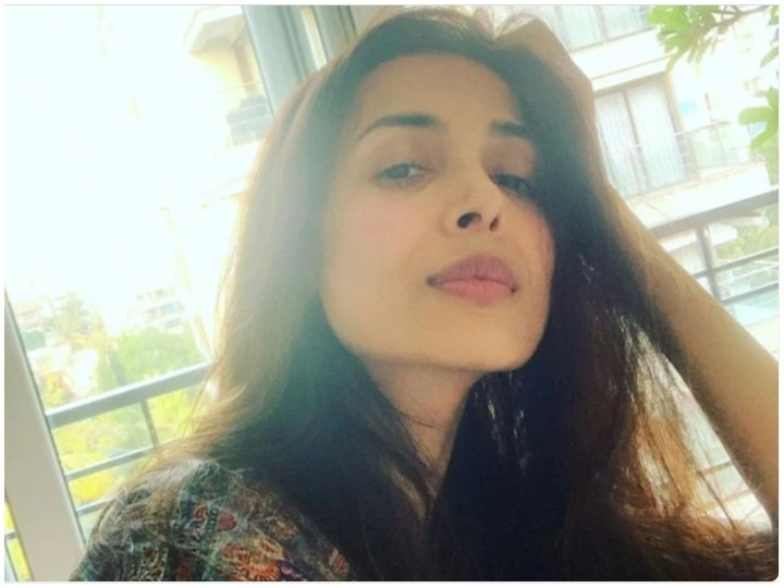 Malaika Arora shared video for hair fall, shared her experience post covid-19