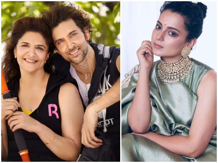 Hrithik Roshan mother pinky roshan commet on sushant singh rajput death is it a comment on kangana ranaut