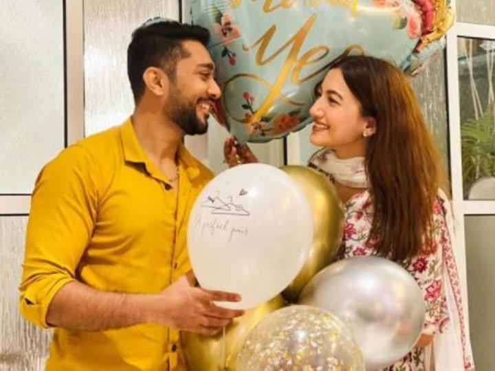 अभिनेत्री गौहर खान ने जैद दरबार से की सगाई की घोषणा, देखें तस्वीरें