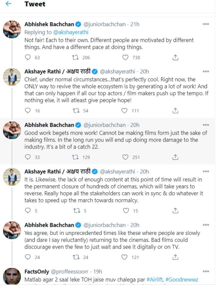 अक्षय कुमार को लेकर अभिषेक बच्चन और फिल्म ड्रिस्टिब्यूटर में ट्विटर पर हुई बहस, जानिए पूरा मामला